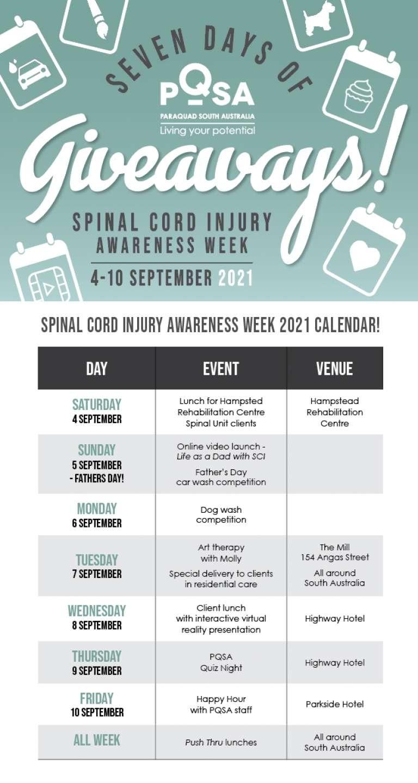 Spinal Cord Injury Awareness Week