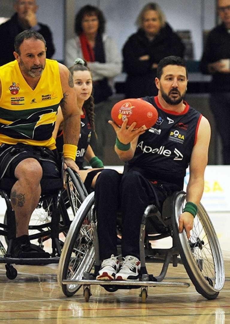 Wheelchair Football